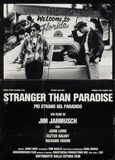 Italian Poster for Stranger Than Paradise (Jim Jarmusch, 1984)