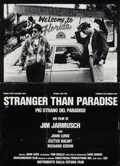 Italian Poster for Stranger Than Paradise (Jim Jarmusch, 1984)