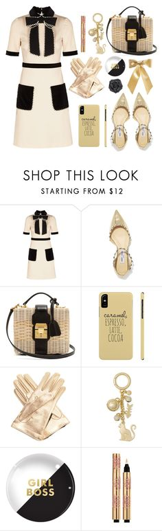 """""""Statement Bags"""" by bysc ❤ liked on Polyvore featuring Gucci, Jimmy Choo, Mark Cross, MICHAEL Michael Kors, Fringe and Yves Saint Laurent"""