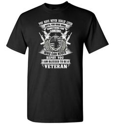 I Am Blessed To Be A VeteranFind out more at https://www.anzstyle.com/products/i-am-blessed-to-be-a-veteran #tee #tshirt #named tshirt #hobbie tshirts #I Am Blessed To Be A Veteran
