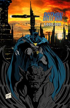 Batman One Million  11 x 17 PINUP by JourneyStudiosOnline on Etsy, $20.00