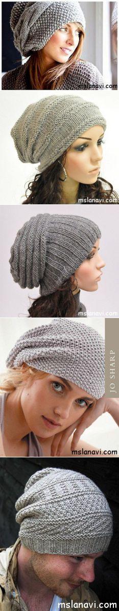 Оригинальные вязаные шапки | Вяжем с Ланой