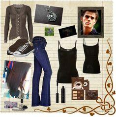 """Vampire Diaries - Elena Gilbert"" by mariellehill1319 on Polyvore"