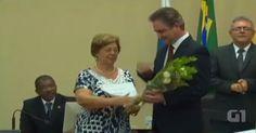 Mãe de Sérgio Moro é vaiada durante homenagem ao dia da mulher; vídeo
