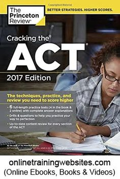 55 best education teaching books images on pinterest business cracking the act with 6 practice tests 2017 edition fandeluxe Images