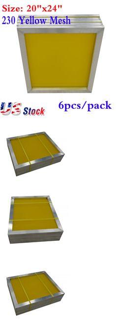 8b7d9ef2d8d Screen Printing Frames 183114  6Pcs -20 X 24 Aluminum Screen Printing  Screens With 230