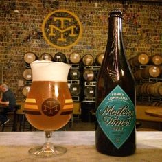 Modern Times Funky Lomaland aged in red wine barrels goes on sale this week.