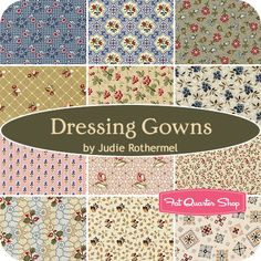 Dressing Gowns Fat Quarter Bundle Judie Rothermel for Marcus Brothers Fabrics - Fat Quarter Shop