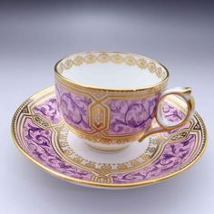 Beautiful tea cup and saucer c