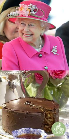 Queen Elizabeth II loves this cake so much she even travels with it Chocolate Button Cake, Chocolate Biscuit Cake, Chocolate Buttons, Best Chocolate Cake, Chocolate Fudge, Chocolate Desserts, Cupcakes, Cupcake Cakes, Elizabeth Ii