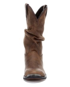 """Durango Women's 11"""" Western Slouch Boots - Distressed Tan"""