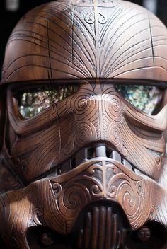 Maori Stormtrooper helmet.