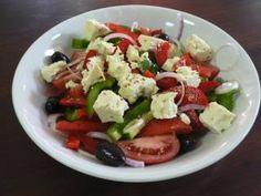 Greek salad with fresh veggies!