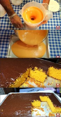 Receita de Bolo de cenoura com muita cobertura de brigadeiro. Easy Smoothie Recipes, Easy Smoothies, Good Healthy Recipes, Sweet Recipes, Snack Recipes, Pumpkin Spice Cupcakes, Coconut Recipes, Fall Desserts, Ice Cream Recipes