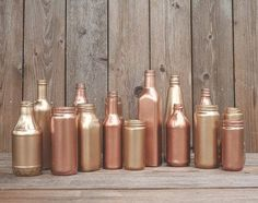 Copper is the new gold! This brilliant color is extremely elegant and can highlight any wedding: vintage, industrial, modern, glam, rustic ...