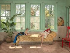 Lively Photos of Domestic Life Inspired by 17th-Century Dutch Paintings