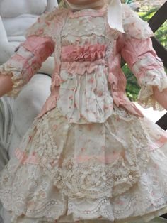 ~~~ On Hold for A. / Most Beautiful French BeBe Spring Dress with from whendreamscometrue on Ruby Lane