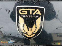 1987 Pontiac Firebird GTA Trans Am Logo Photo #10