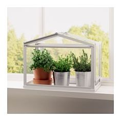 IKEA - SOCKER, Kasvihuone, Suotuisa kasvuympäristö siemenille ja taimille.
