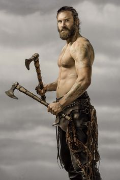 "Clive Standen as Rollo for The History Channel's ""Vikings"""