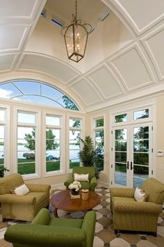 Bohns Point Residence - traditional - family room - minneapolis - Alexander Design Group, Inc.