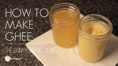 Learn how to make ghee at home. Simple, nourishing, ghee. A video tutorial on making homemade ghee.