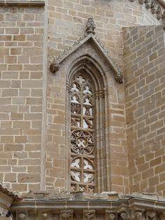 cathedral window at Valderrobres by Marlis1, via Flickr