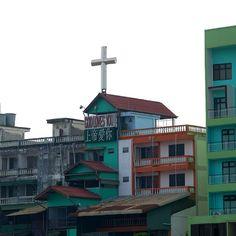 Everywhere #thailand #god #heart