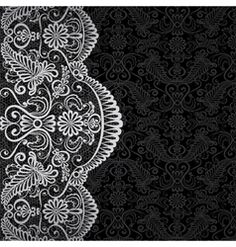 Lace border vector art - Download Lace vectors - 1333569