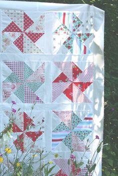 lovely little baby quilt