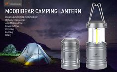 OxyLED New Camping Light CL10 LED Outdoor Rechargeable Solar Light Area Lantern