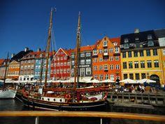 #cph #nyhavn #colourfull houses