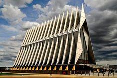 Capilla de la academia de la fuerza aerea en Colorado, Estados Unidos