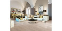 Parchet natural - Piastrelle Decor, Furniture, Interior, Home, Sectional Couch, Barlinek, Bed, Pillows, Flooring