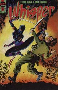 #32 MULTI-LISTING Whisper First Comics 1986 Series Volume 2 #1