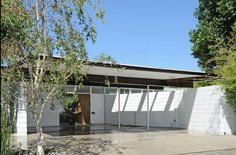 2143 Panorama Terrace is a stunning mid-century modern home designed and built by architect James H. Modern Carport, Carport Designs, Clerestory Windows, Beautiful Pools, Los Angeles Homes, Architectural Features, Mid Century House, Bungalows, Modern House Design