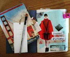 Beginning a new #journal.. #theseptemberissue. #ladytacones #sketchbook #collage #cutandpaste #moleskine #fashionillustration #caminaescribedibuja #walkwritedraw #artjournal