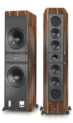 Lansche Audio n Loudspeakers Pro Audio Speakers, High End Speakers, Tower Speakers, Audiophile Speakers, High End Audio, Built In Speakers, Hifi Audio, Monitor Speakers, Audio Design