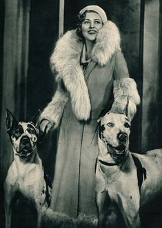 2/6 Makela C  This was a huge trend in the 1930's the big jackets with the fur lining. I notice the fur trim around the linings of the neck, arms, and the bottom of the coat.