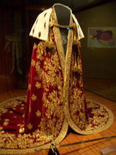 Napoleon's coronation robe.