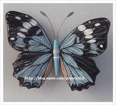 종이감기/나비 :: 네이버 블로그