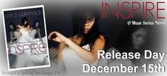 ✺✺✺ RELEASE DAY LAUNCH: INSPIRE by CORA CARMACK + GIVEAWAYS ✺✺✺