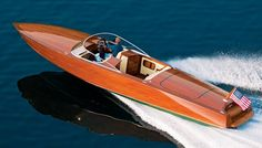 """""""Jefe"""", a 34-foot speedster has been taken as inspiration for the fine woods displayed, the idea of an entirely wooden deck is very nice and I also really like the use of just one kind of wood without using inlays."""