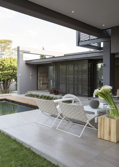 House Sar | Inside Outside | Nico van der Meulen Architects, M Square Lifestyle Design and Necessities | #living #dining #outside #lanai #Contemporary #architecture #Design #lifestyle #furniture