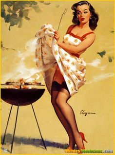 Claire Pin-Ups