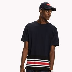 Image for Signature Stripe T-shirt from TommyUK
