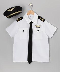 White Pilot Dress-Up Set......or for my Portuguese peeps a band uniform! Lol