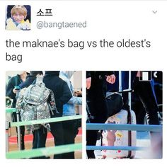 That's because Jin likes pink and feminine things and isn't ashamed