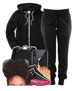 """"" by hoodxprincess ❤ liked on Polyvore featuring NIKE"
