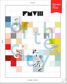 Screen/Print #47: Fresh Meat's 'Of the City', from UIC | Features | Archinect